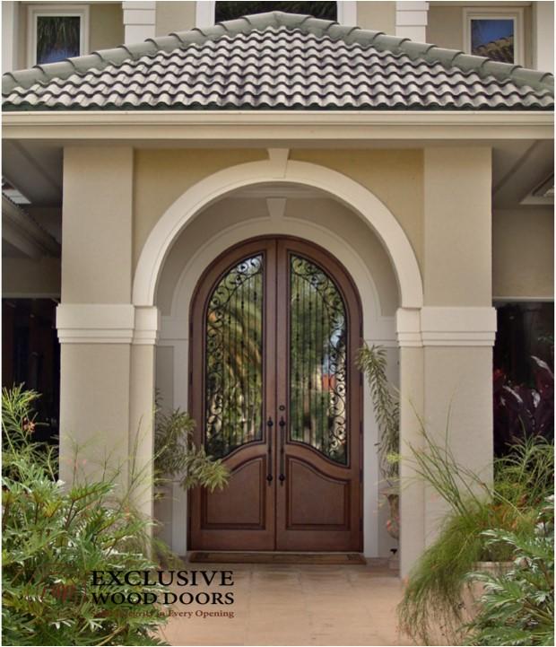 Mediterranean Style Front Doors: Exclusive Wood Doors